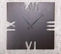 """Настенные часы """"Wooden Rim 60cm"""" из дерева ясень в скандинавском стиле"""