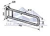 Поручень инвалидный для унитаза откидной, Ø 32мм - 700мм, фото 2