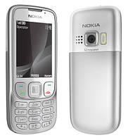 Китайский мобильный телефон Nokia 6303, 2 сим, металлический корпус. Аккуратный,стильный и удобный телефон!