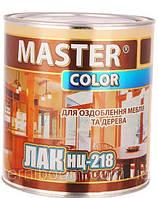 Мебельный быстросохнущий нитро лак Нц-218 Master Color (глянец)