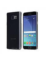 Чехол rock Slim Jacket для Samsung Galaxy N920  Note 5 прозрачно-черный, фото 1