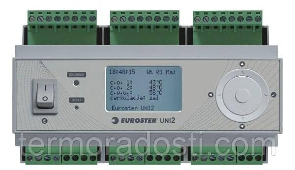 Euroster UNI2 - погодозависимый контроллер для котла