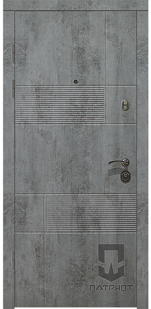 Серия LS декор Дуэт бетон пепельный
