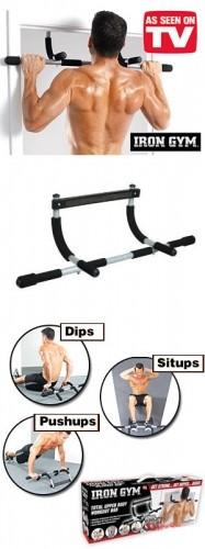 Турник Айрон Джим (Iron Gym) тренажер - турник для дома. Шикарное тело - это просто!