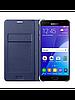 Чехол Samsung Flip Wallet для Samsung Galaxy S7 Edge темно-синий