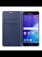 Чехол Samsung Flip Wallet для Samsung Galaxy S7 Edge темно-синий, фото 1