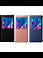 Чехол-книжка Samsung S View Cover для Samsung Galaxy A710 золотой