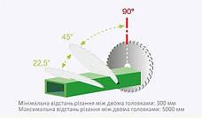 Порезка алюминиевого профиля под углом 90°, фото 2