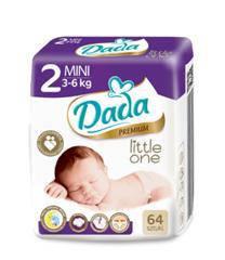 Подгузники Dada 2 Little One Mini (3-6 кг), фото 2