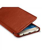 Чехол Icarer Vintage Series для Samsung Galaxy S6 Edge коричневый