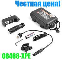 Фонарь Police BL-Q8468-XPE, zoom, 1x14500 (1xAA), ЗУ 220V, под ружье, выносная кнопка, комплект-гарантия!