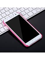 Чехол X-LEVEL Metallic Series для Samsung Galaxy J7 розовый, фото 1
