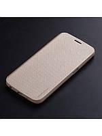 Чехол Seven-days Breathing series для Samsung Galaxy S6 золотой, фото 1