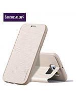 Чехол Seven-days Breathing series для Samsung Galaxy S6 синий, фото 1