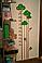 """Дитячий зростомір наклейка в дитячу кімнату """"Ростомір Дерево"""", фото 2"""