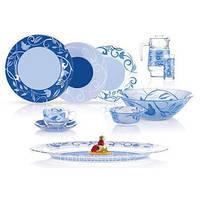 Сервиз столовый 46пр. Luminarc Plenitude Blue 4871n