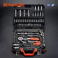 """Профессиональный набор инструментов 1/2"""" и 1/4"""", 94 пр. Harden Tools 510694"""