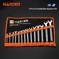Набор ключей рожково-накидных 14 предметов, 8-24 мм Harden Tools 540101