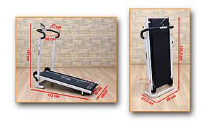 Механическая беговая дорожка ABARQS , LCD дисплей, фото 2