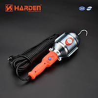 """Магнитная инспекционная лампа для СТО 380мм """"переноска"""" 60W/10м Harden Tools 670701"""
