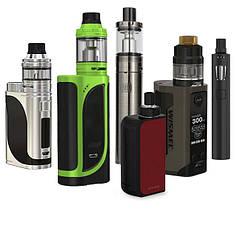 Электронные сигареты - стартовые наборы, подсистемы