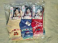 Носки для девочки 3-8 лет с рисунком оптом
