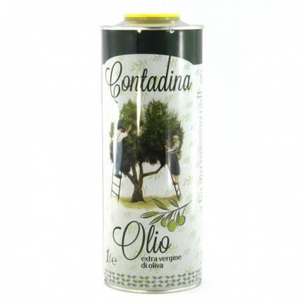 Масло оливковое Contadina Olio Extra Vergine di Oliva 1л Италия, фото 2