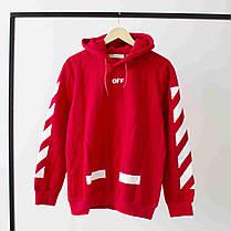 Худи Off-white Red (ориг.бирка), фото 2