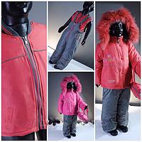 Цена упала!Зимние теплые костюмы комбинезоны Donilo на девочку 1-2 г