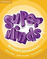 Super Minds 5 Workbook with Online Resources (Рабочая тетрадь)