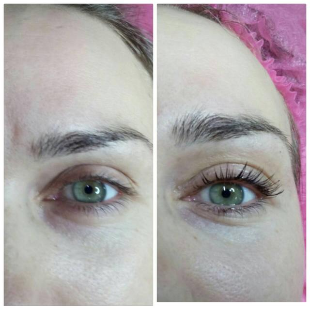 Kollagenirovaniye resnits LVL Lashes