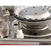 Портативная газовая плита с пьезоподжигом k-202, фото 2