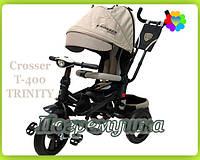 Детский трехколесный велосипед Crosser T-400 Trinity Air (Beige)