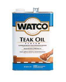 Тиковое масло Watco Teak Oil, 100мл, 250мл, 500мл.