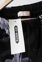 Штаны Off-white Black/Red/Grey (ориг.бирка), фото 2