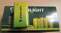 Батарейки ENERLIGHT 9V 6F22 (крона), фото 1