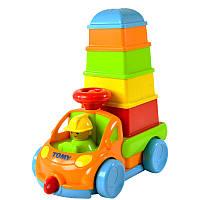 Игрушка грузовичок с пирамидкой Tomy