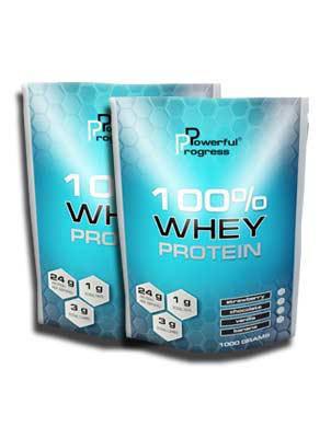 Комплект Powerful Progress 100% Whey Protein «Разом дешевше» 2000 g, фото 2