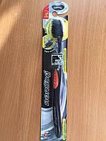 Зубная Нано  щетка с бамбуковым напылением для чувствительных зубов.Charcoal Thoothbrush