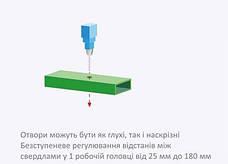 Одновременное сверление до 6 цилиндрических отверстий, фото 3