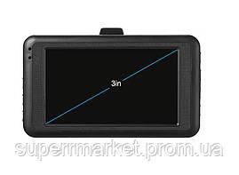 "Автомобильный видеорегистратор Car Vehicle BlackBOX DVR 626 1080P 3.0Mp HDMI 3.0"" FULL HD, фото 2"
