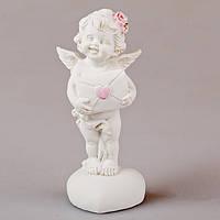 Статуэтка декоративная Lefard Ангелочек с сердцем 5х4х10 см, 598-084