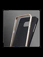Чехол SGP Neo Hybrid для Samsung Galaxy Note 4 темно-серый