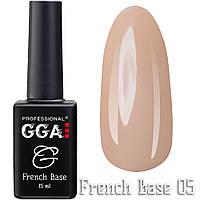 GGA Professional  Base каучуковая френч 05 15 ml