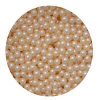 """Посыпка """"Жемчужные шарики (бежевые) 3  мм."""", 50 гр."""