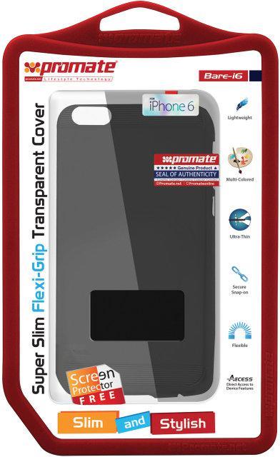 Защитная накладка для iPhone 6 Promate Bare-i6 Black