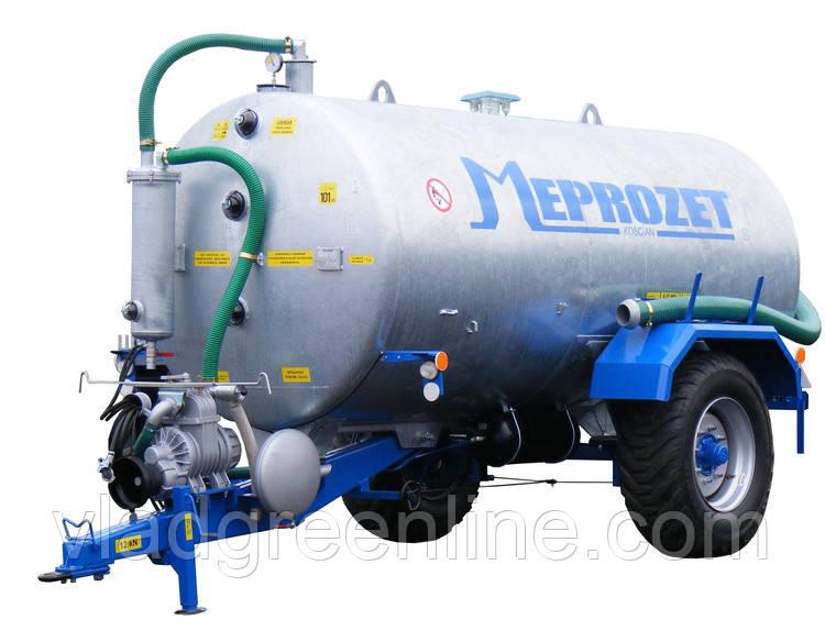 Ассенизационная машина Meprozet PN-70 (7690 л, оцинкованная)