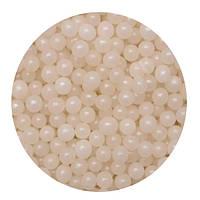 """Посыпка """"Жемчужные шарики (белые) 5 мм."""", 50 гр."""
