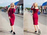 """Платье теплое, материал ангора. Платье миди """"Ирис"""", разные цвета, размеры S, M, L, XL."""