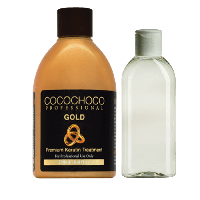 Набор для кератинового выпрямления волос Cocochoco Gold (кератин 250 мл + шампунь 100 мл), фото 1